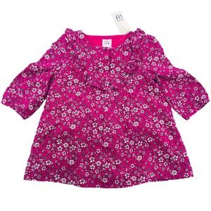 3/6 Month NWT Baby Gap Pink Floral Dress Set
